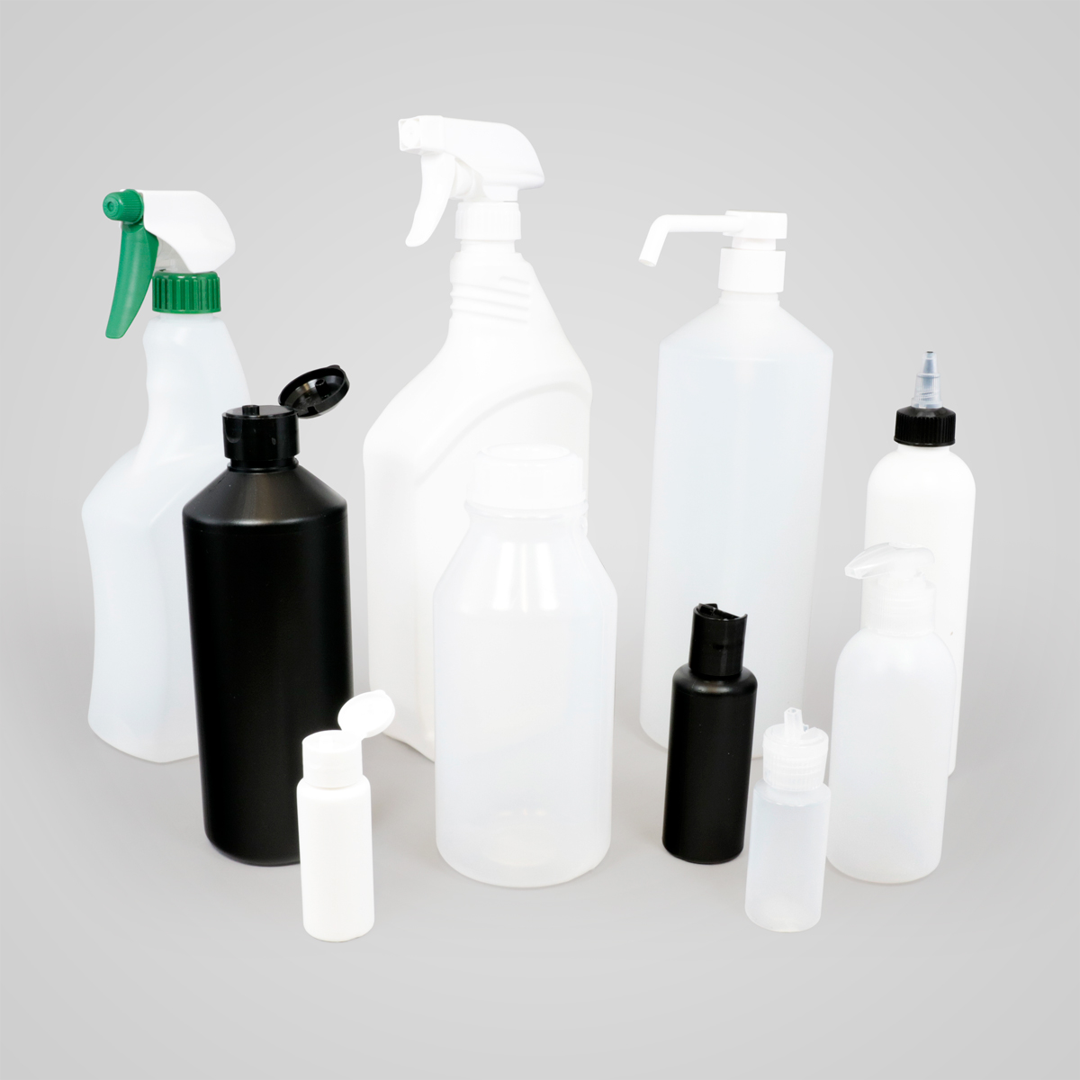 Multi-Use HDPE/LDPE Bottles