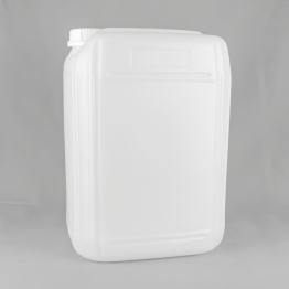20 Litre Fluorinated Plastic Stackable Jerrycan