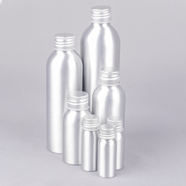 Round Aluminium Bottle (Dropper / Spray)