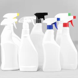 Trigger Bottles HDPE Plastic (Natural or White)