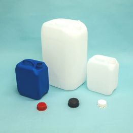 Heavyweight Plastic UN Approved Stackable Jerrycan