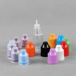 Square Clear E-Cigarette Dropping Bottle