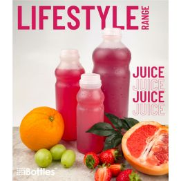 Natural LIFESTYLE Plastic Juice and Smoothie Bottle HDPE