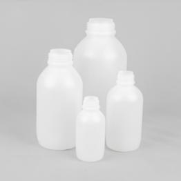 Medium Neck Graduated Plastic Bottle Series 307 HDPE