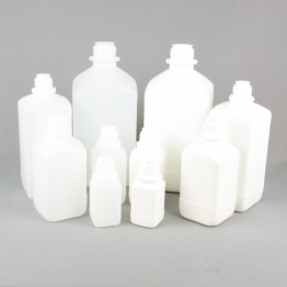 Narrow Neck Reagent Bottle Series 310 HDPE (Natural or White)