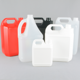Plastic Economy Tamper-Evident Jerrycan (Natural, Black, Red or White)