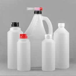 HDPE Round Natural Sauce Bottle