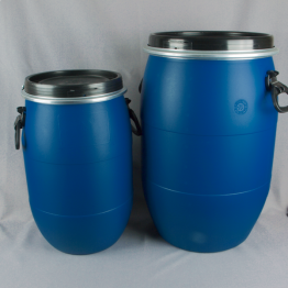 UN Approved Open Top Plastic Blue Drum / Barrel