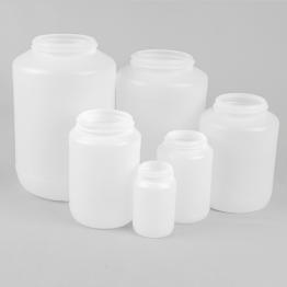 Wide Neck Natural HDPE Jar