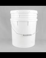 20 Litre White UN Approved Heavyweight Plastic Pail
