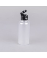 Round Clear/Frosted Tall PET Bottle