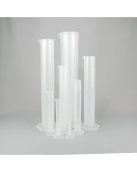 Plastic Graduated Measuring Cylinder PP - Raised Scale