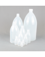 Narrow Neck Plastic Bottle Series 301 LDPE - (Standard Cap, Dropper Cap, or Washbottle closure options)