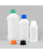 Natural Plastic Juice and Smoothie Bottle HDPE