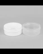 250ml Shallow Body Butter Plastic Jar