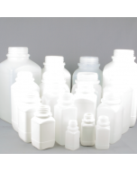 Wide Neck UN Approved Plastic reagent Bottle Series 310 HDPE, with Tamper evident cap (Natural or White)